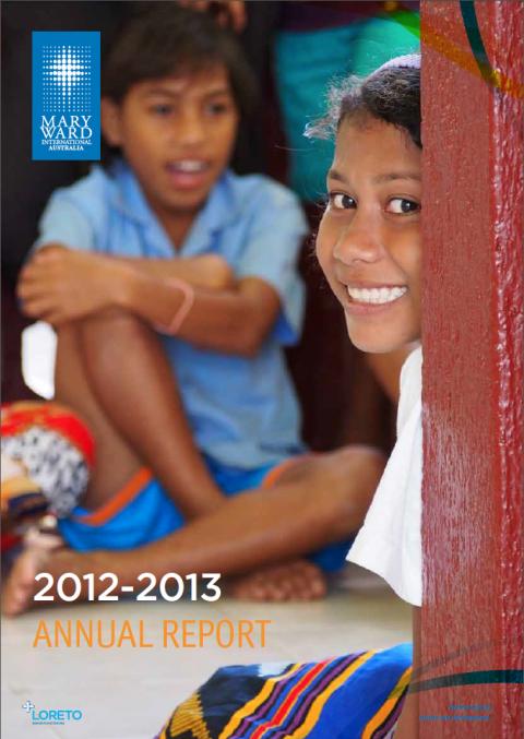 Mary Ward International Australia Annual Report 2012-13