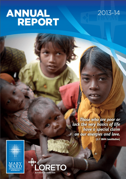Mary Ward International Australia Annual Report 2013-14