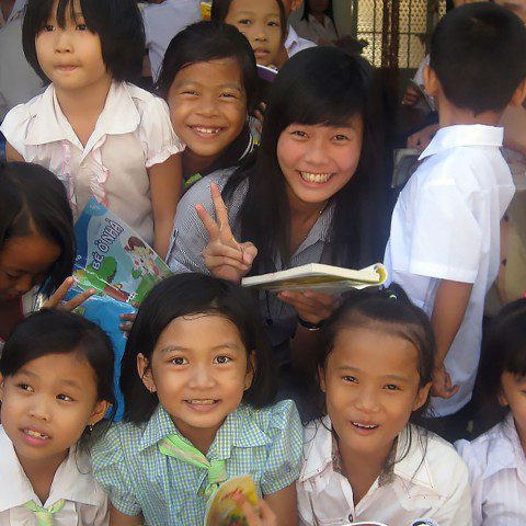Since 2008, MWIA has been supporting the Children's Library Project in rural communities across Vietnam.