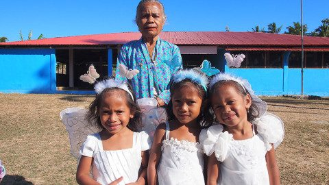 Triplets-and-Grandmother