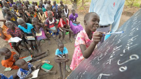 Primary-School-students-at-Loreto-Rumbek