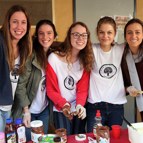 Loreto Normanhurst students in Sydney raising money on 'Loreto Day' for MWIA. The day started with a liturgy followed by stalls and a concert.