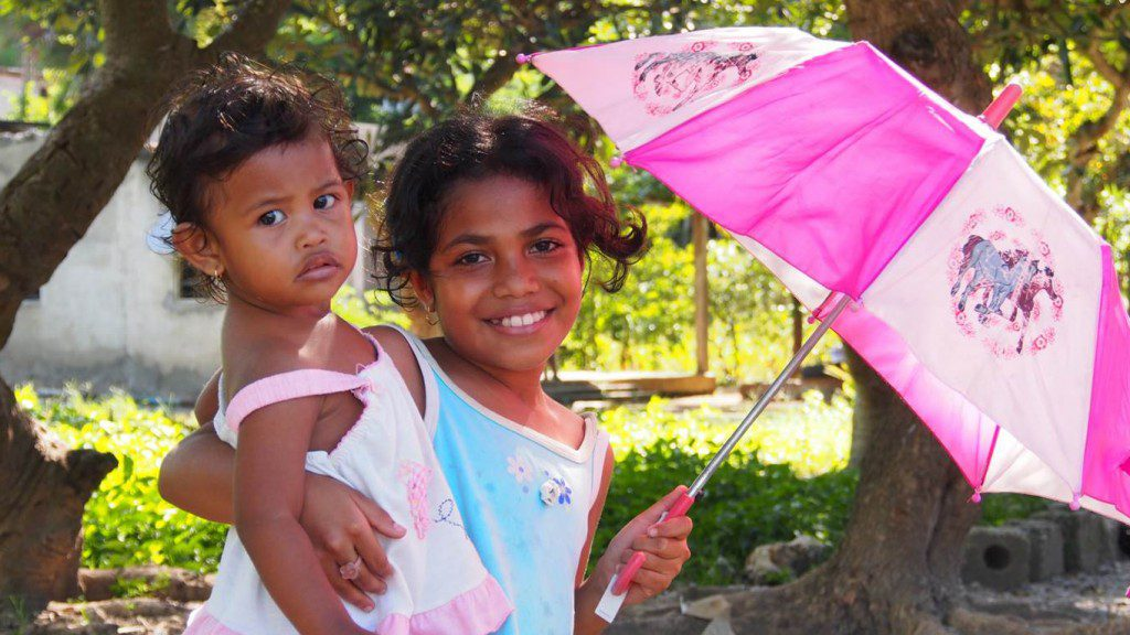 Children in Timor Leste.
