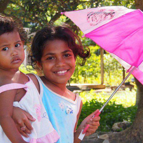 Children in Timor Leste.
