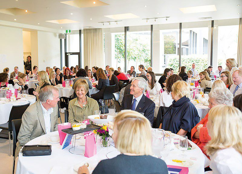 MWIA's inaugural U.N. Day of the Girl Child Breakfast 2014. This event was held in Melbourne with over 100 people attending.
